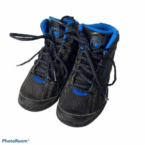 And Boys Basketball Shoes 12 Black Blue